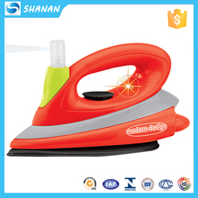 B/O vibration abs plastic toy electric iron play house with light