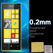 new 0.26mm Tempered Glass Film Guard Screen Protector For Nokia Lumia 520 film