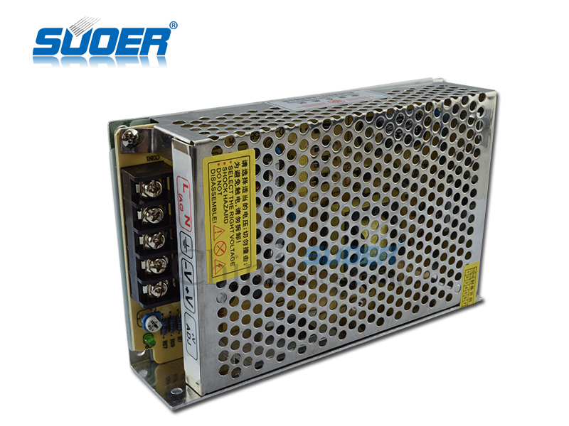 Suoer Best Quality 60W LED Power Supply DC 12V 5A Switching Power Supply