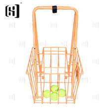 Wholesale metal wire tennis ball teaching cart