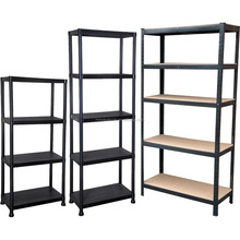 Heavy duty 5 tier boltless storage <strong>racks</strong>