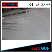 Clear Bevelling high tempreture silica tube