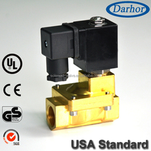 Normally closed/ Normally Open Pilot Guide Brass Solenoid Valve