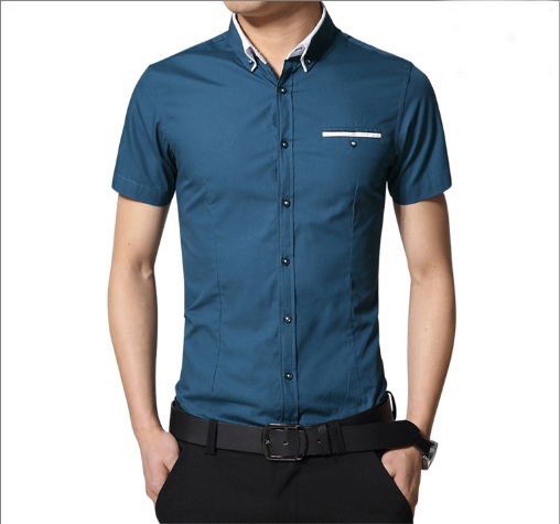 hot sale indian design royal classic style double collar shirt for men