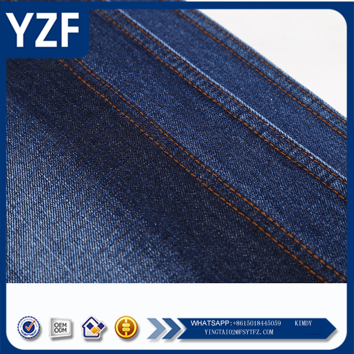 10s oe yarn denim fabric for man and lady garment