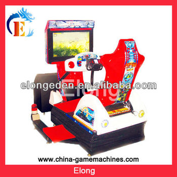 2014 hot sale coin operated 4D racing game machine simulator arcade racing car game machine