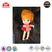 ICTI certificated custom made plastic very small blow up baby doll