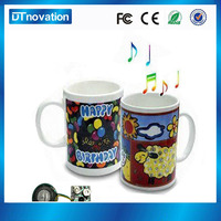 Manufacturer offer custom shape music cup
