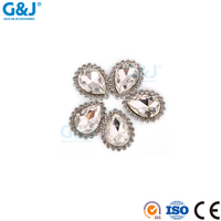 Guojie brand yiwu wholesale four seasons duck loose gem stone rhinestones strass crystal bead