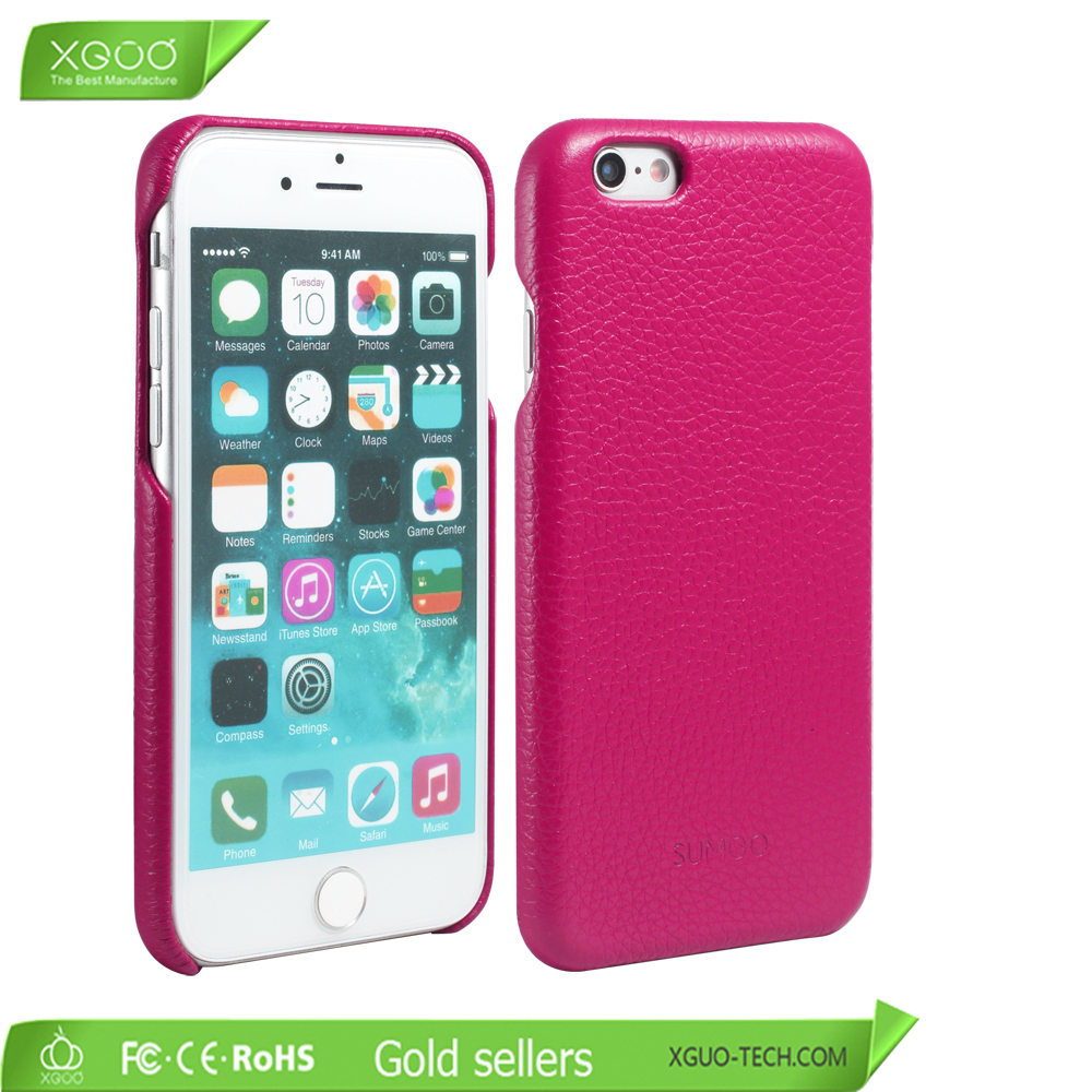 New mould real leather cover for iphone 6s from Shenzhen factory