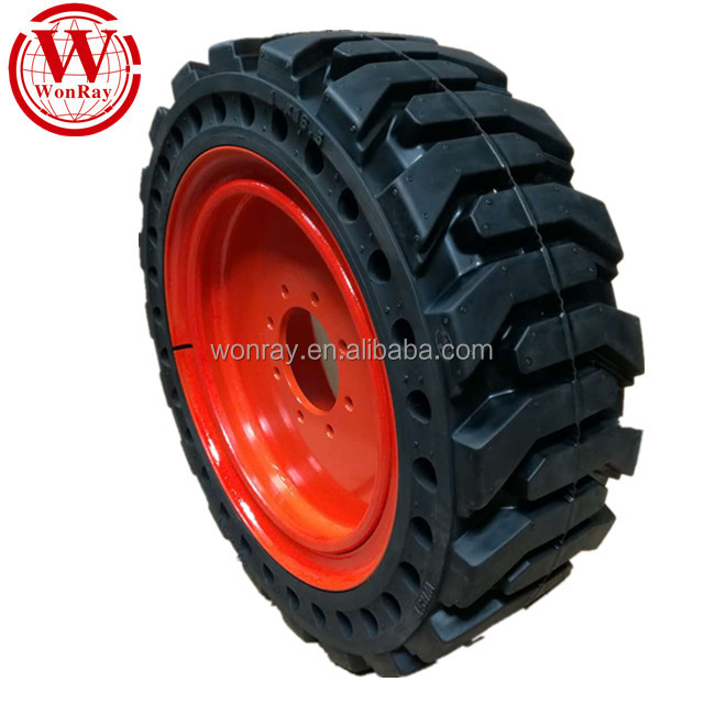 loader <strong>tires</strong> 29.5-25 26.5-25, heavy duty bobcat skid steer solid tyre 10 16.5 12 16.5 with fast delivery