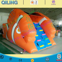 Factory price Coconut tree Inflatable Obstacle