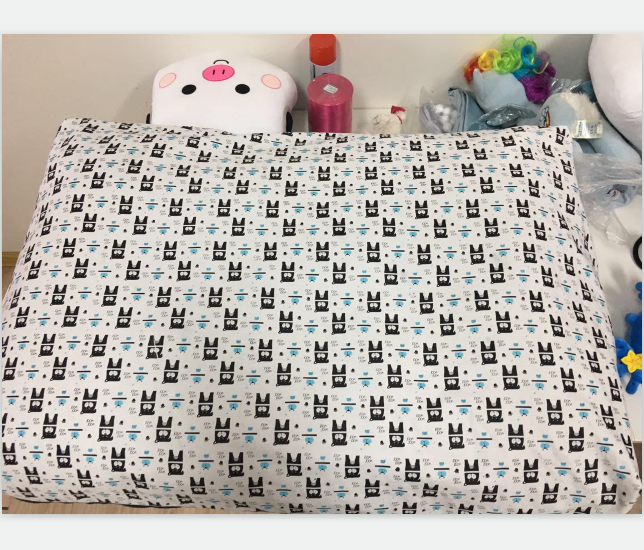 manufacturer wholesale soft cotton printing pet cushion/dog bed cushion