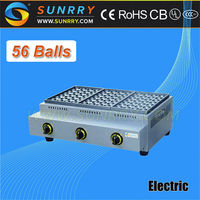 Electric fish ball grill for baking 56 ball per time cake ball grilling machine (SUNRRY SY-FB56)