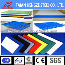 colored corrugated steel plate/polyurethane panels/roofing material