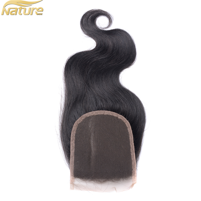 New Products Market Brazilian Lace Closure Hair With Lace Closure Size 4*4 Smooth,Soft