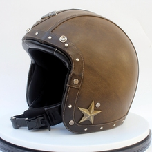 customized Retro Motorcycle Helmet Open Face Safe Motorcycle Helmet Wholesale Helmet