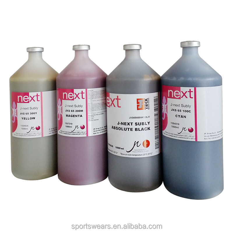 Wholesale sublimation ink original Italy j-next jxs-65 dye sublimation ink