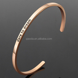 Wholesale Engraved Mantra Gold Cuff bangles models design for Women
