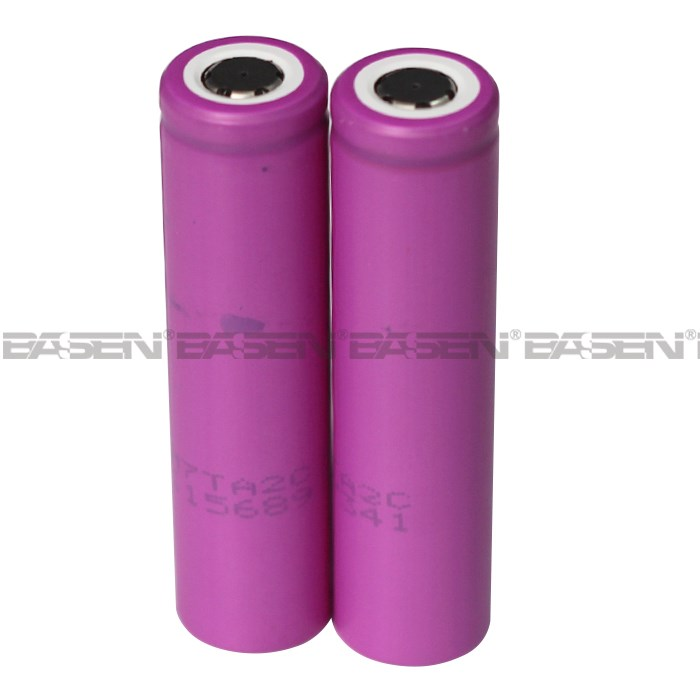 Hot sell 16650 sanyo li ion battery 16650 3.7V 2400mAh with high quality rechargeable battery