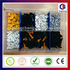 7 size box packaging cap nuts and bolts kit
