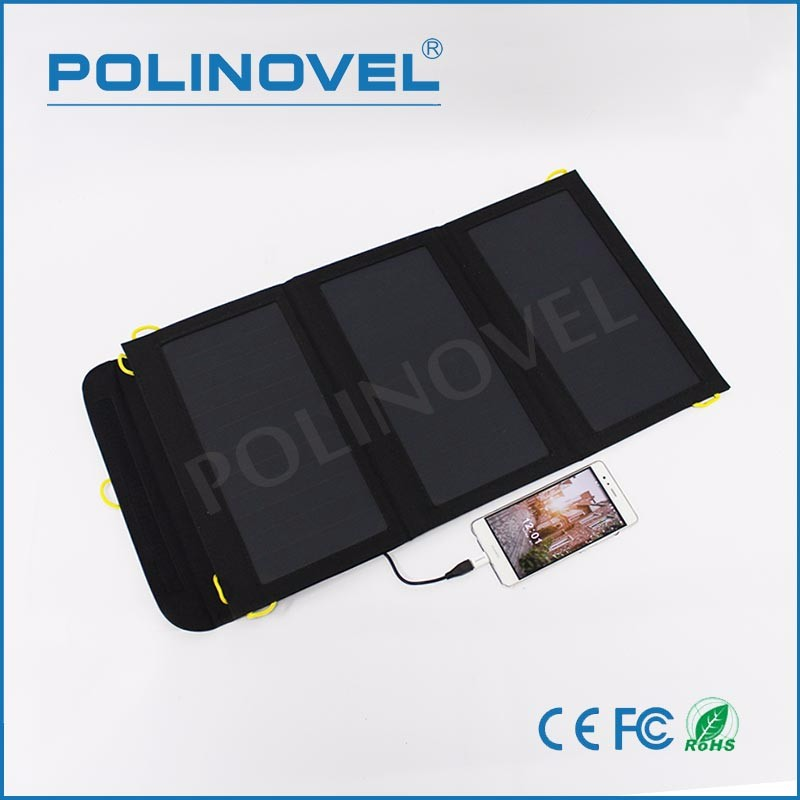 20W High efficiency flexible foldable solar panel