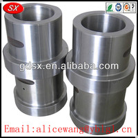 Customized stainless steel/brass/aluminum bush bolt,square tube bushings,drive shaft bushing in Dongguan ISO9001