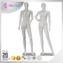Clothes display plastic female mannequin doll