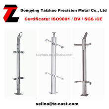 adjustable balustrade post for swimming pool post
