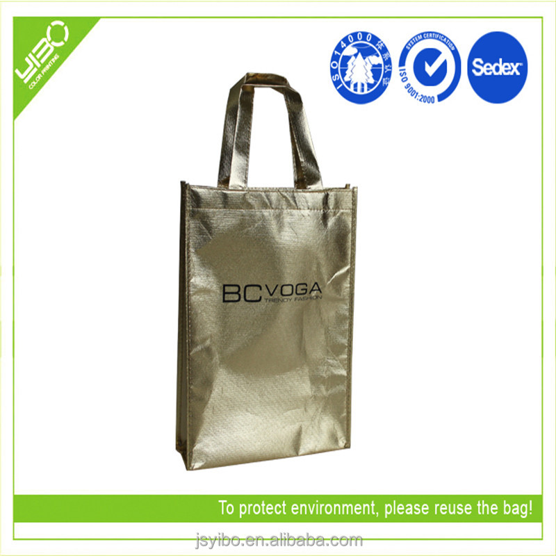 100% Eco-friendly Waterproof Non Woven Laminated Bag