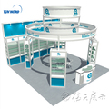 Detian Offer trade show booth backdrop stand trade show display shelving