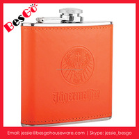 Buy 7oz print logo hip flask usa hot sale stainless steel hip ...