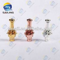 HOT!2012 newest 510 rose drip tips with yellow/red/silver color