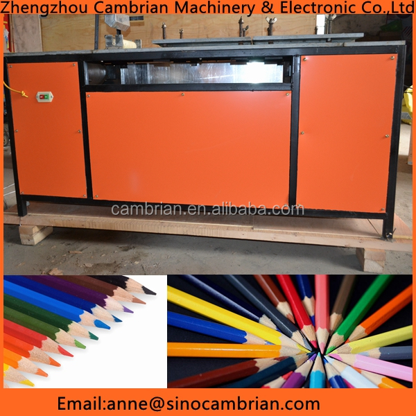 Big capacity waste newspaper recycling pencil making machine with cheaper price