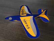 balsa wood airplane gliders