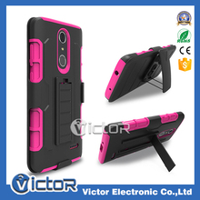 New model 3in1 shockproof robot case for ZTE Grand X4 , with kickstand phone case