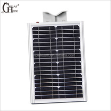 12W power Monocrystalline solar panel outdoor solar led street light
