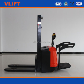 Warehouse 1.5 ton full electric stacker lifting height 5000 mm