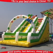 2015 China cheap used giant commercial adult inflatable pool slide / inflatable slide for inflatable pool