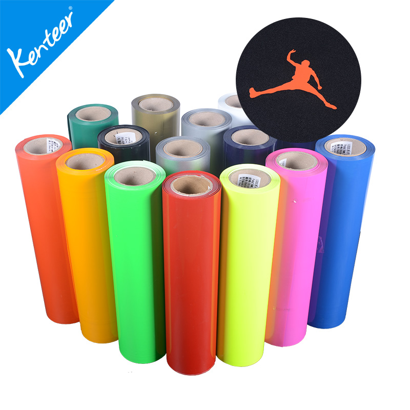 Kenteer PU Flex Vinyl Heat Transfer Film for T-shirt/Textile/Jersey