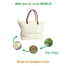 Biodegradable Paper Straw Eco high classed fashionable Paper Straw bag sets