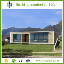 20ft container attached low cost prefab cabin house with CE certificate