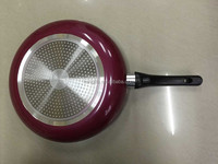 32CM gorgeous red color nonstick frying pan