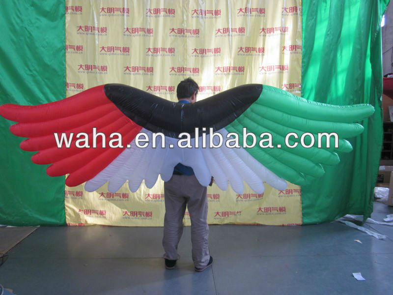2012 New Brand Party Decoration With Inflatable Angel Wing