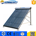 Solar Keymark approved antifreeze heat pipe solar collector