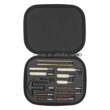 Handgun Cleaning kit in compact molded carry case, .22-.45 Caliber