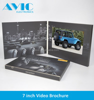 A4 A5 paper size and advertising use Type LCD tft video brochure