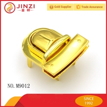 2017 New high quality metal luggage clasps with golden plating,Samples free