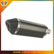 Stainless Steel black scooter muffler for ATV Buggy Motorcycle go-kart Sport Street Dirt Bike
