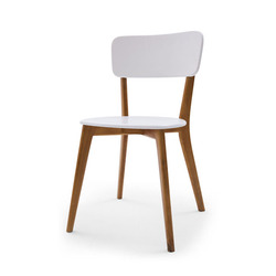 Normira chair designer chair furniture Solid wood frame painted in different colors optional